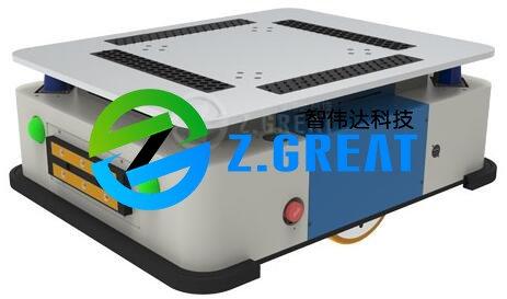 激光导航AGV机器人底盘