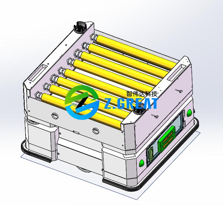 激光背负式AGV