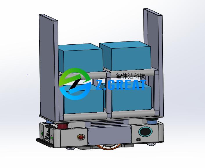 重载激光导航AGV
